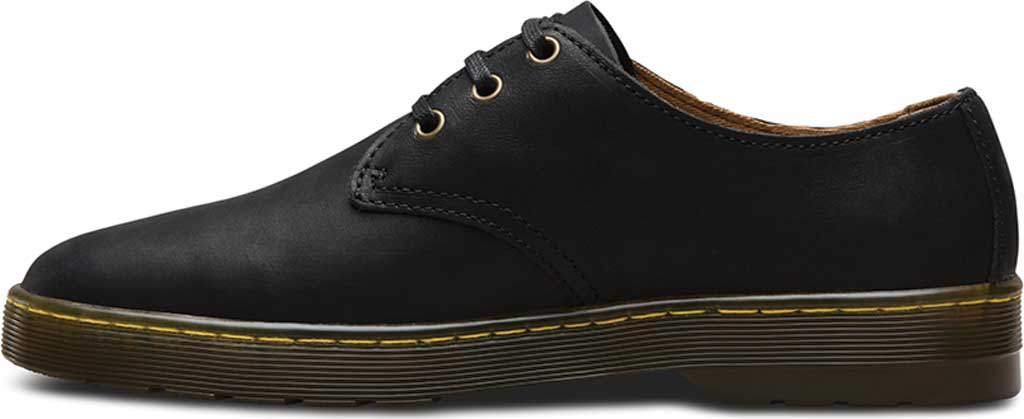 Men's Dr. Martens Coronado 3-Eye Shoe, Black Wyoming, large, image 3