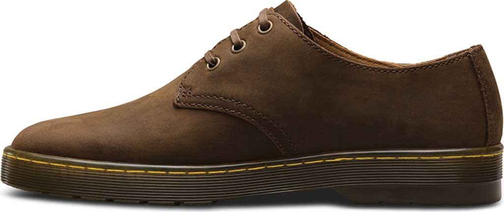 Men's Dr. Martens Coronado 3-Eye Shoe, Gaucho Crazy Horse Leather, large, image 3