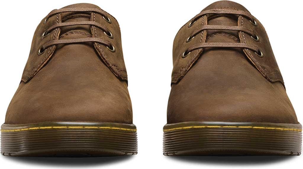 Men's Dr. Martens Coronado 3-Eye Shoe, Gaucho Crazy Horse Leather, large, image 4