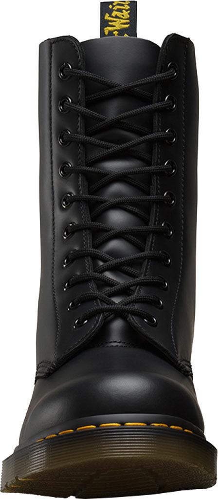 Dr. Martens 1490 10-Eyelet Boot, Black Smooth Leather, large, image 4