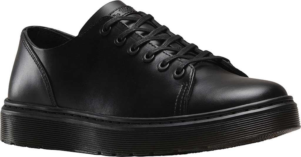 Dr. Martens Dante 6 Eye Raw Shoe, Black Brando, large, image 1