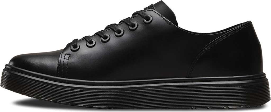 Dr. Martens Dante 6 Eye Raw Shoe, Black Brando, large, image 3