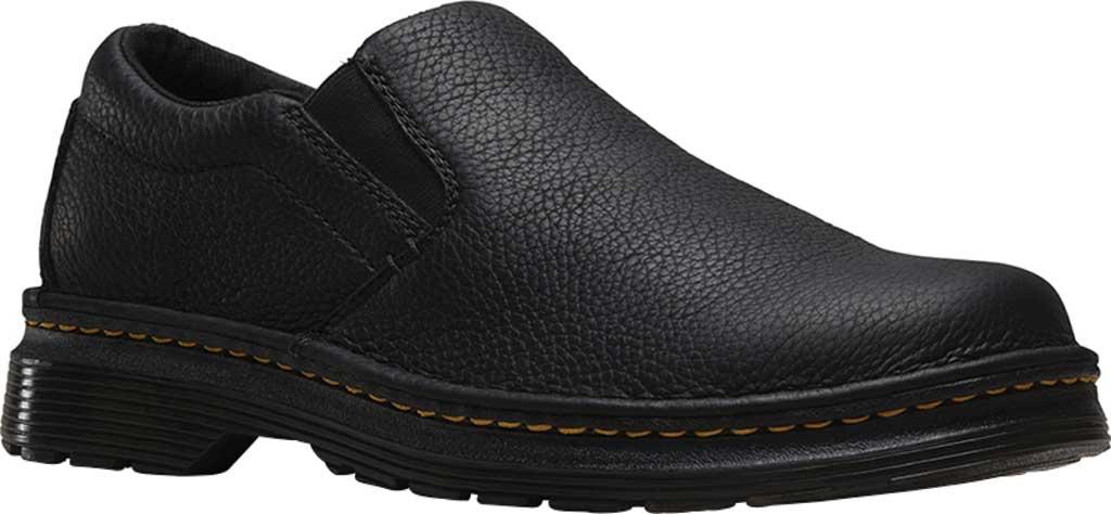 Men's Dr. Martens Boyle Slip On Shoe, Black Grizzly, large, image 1
