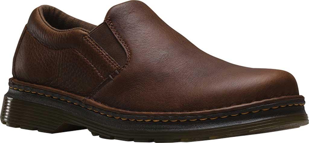 Men's Dr. Martens Boyle Slip On Shoe, Dark Brown Grizzly, large, image 1