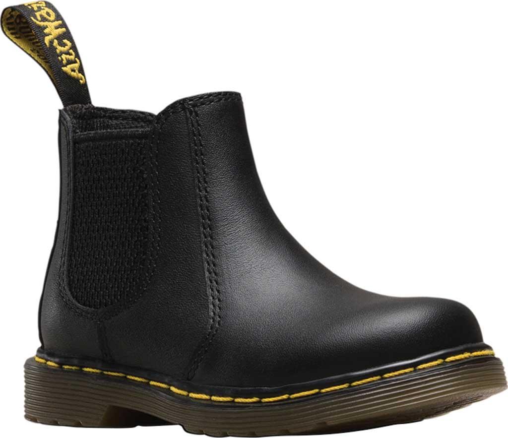 Infant Dr. Martens Shenzi Chelsea Boot, Black Softy T, large, image 1
