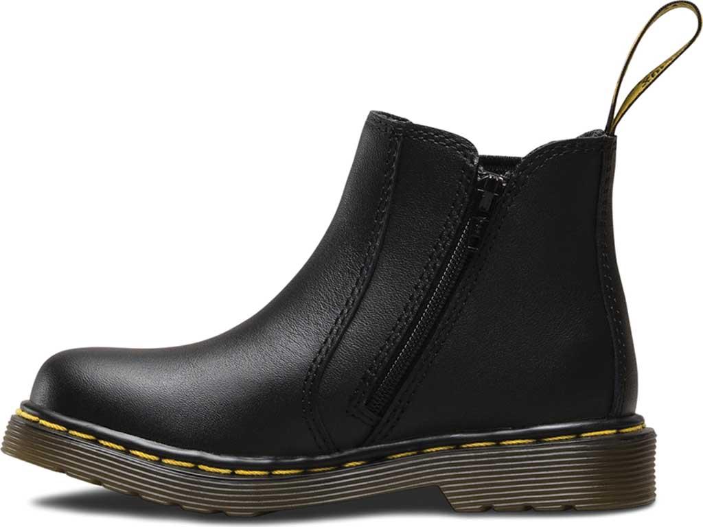 Infant Dr. Martens Shenzi Chelsea Boot, Black Softy T, large, image 3