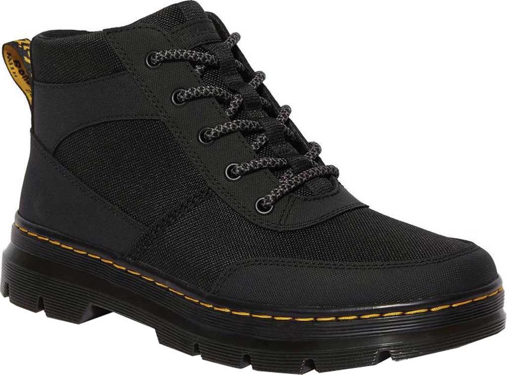 Dr. Martens Bonny 6 Eye Chukka Boot, Black Extra Tough Nylon/Ajax, large, image 1