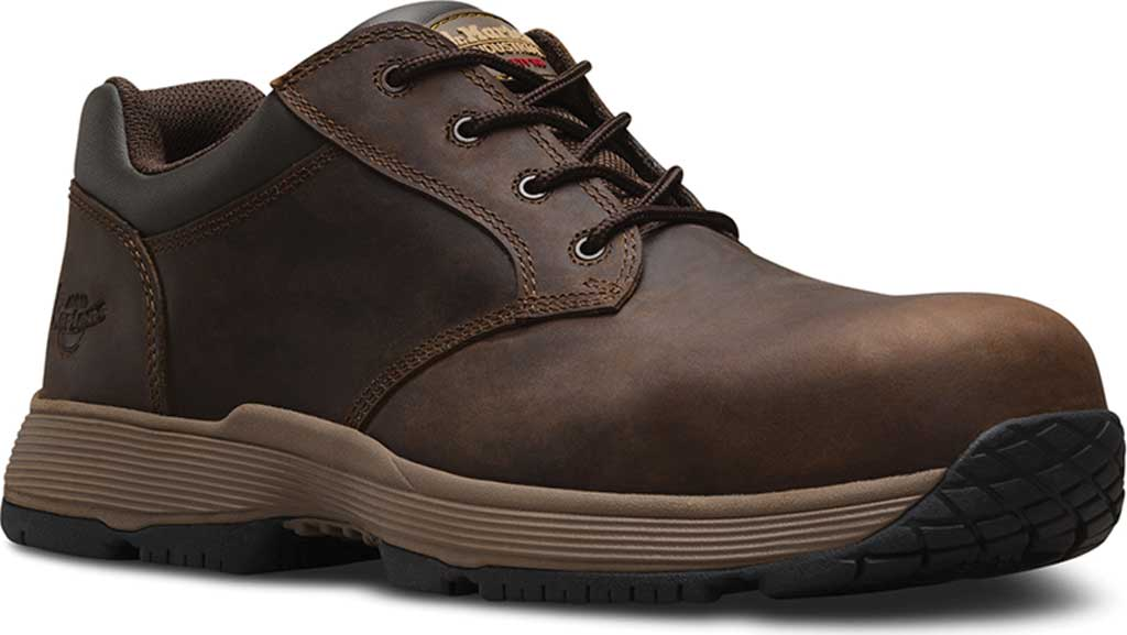Dr. Martens Work Linnet SD Non-Metallic Safety Toe 4 Eye Shoe, Gaucho Connection, large, image 1