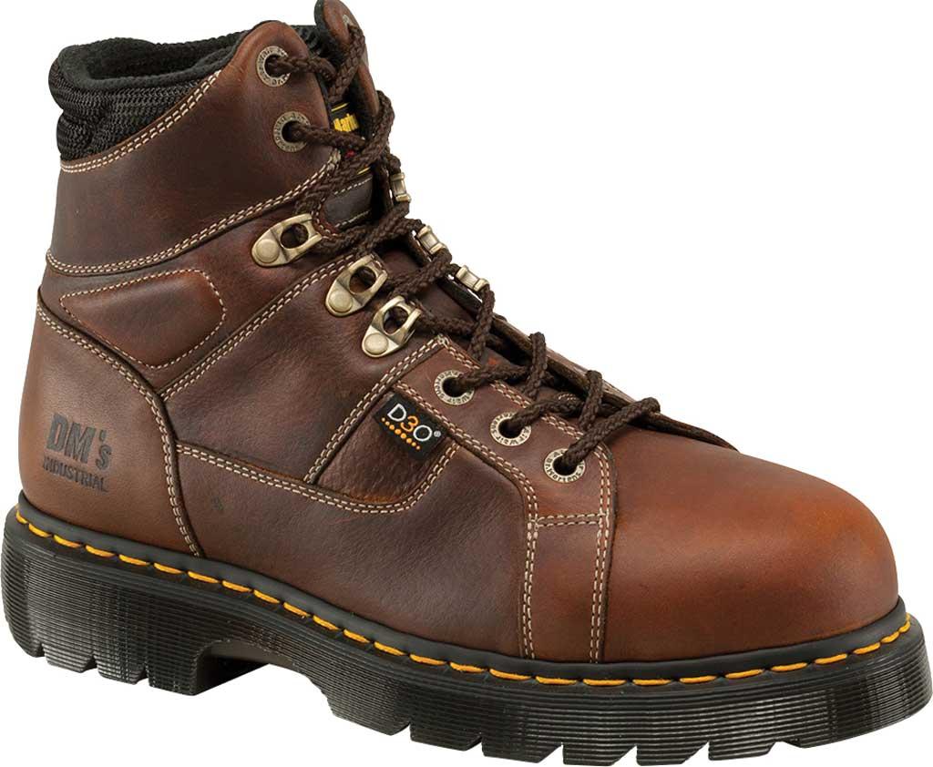 Dr. Martens Work Ironbridge Tec-Tuff Safety Toe 8 Tie Boot, Teak Industrial Trailblazer (Internal MetGuard/ST), large, image 1