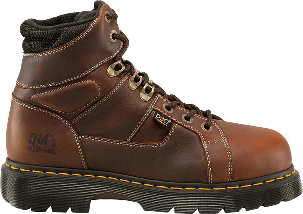 Dr. Martens Work Ironbridge Tec-Tuff Safety Toe 8 Tie Boot, Teak Industrial Trailblazer (Internal MetGuard/ST), large, image 2