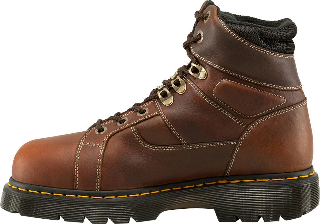 Dr. Martens Work Ironbridge Tec-Tuff Safety Toe 8 Tie Boot, Teak Industrial Trailblazer (Internal MetGuard/ST), large, image 3