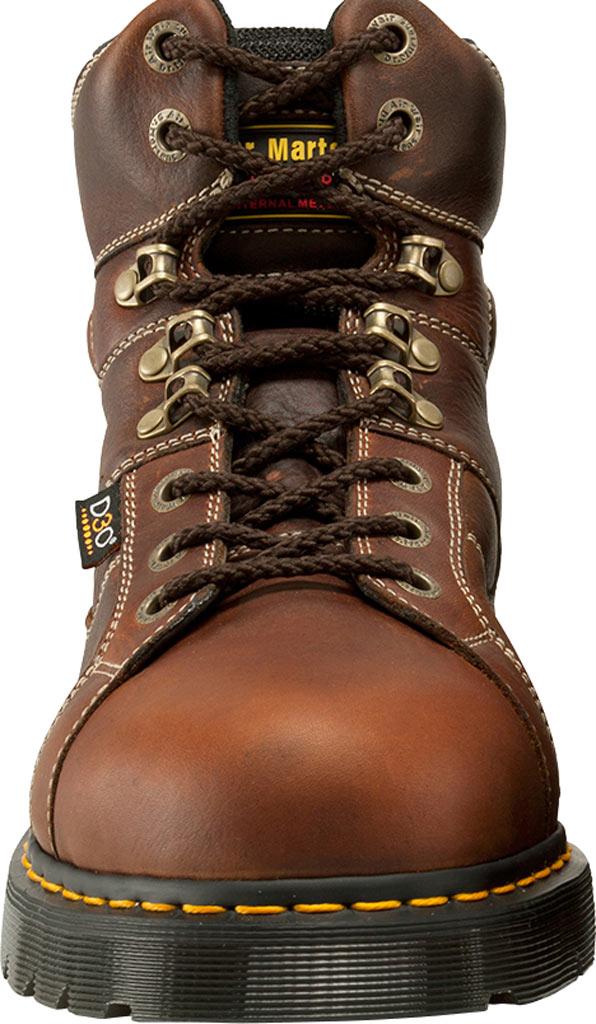 Dr. Martens Work Ironbridge Tec-Tuff Safety Toe 8 Tie Boot, Teak Industrial Trailblazer (Internal MetGuard/ST), large, image 4