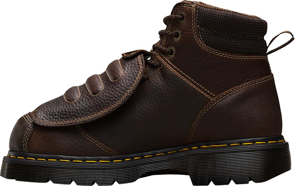 Dr. Martens Work Ironbridge Tec-Tuff Safety Toe 8 Tie Boot, Teak Industrial Trailblazer Tumbled (Met Guard/ST), large, image 3