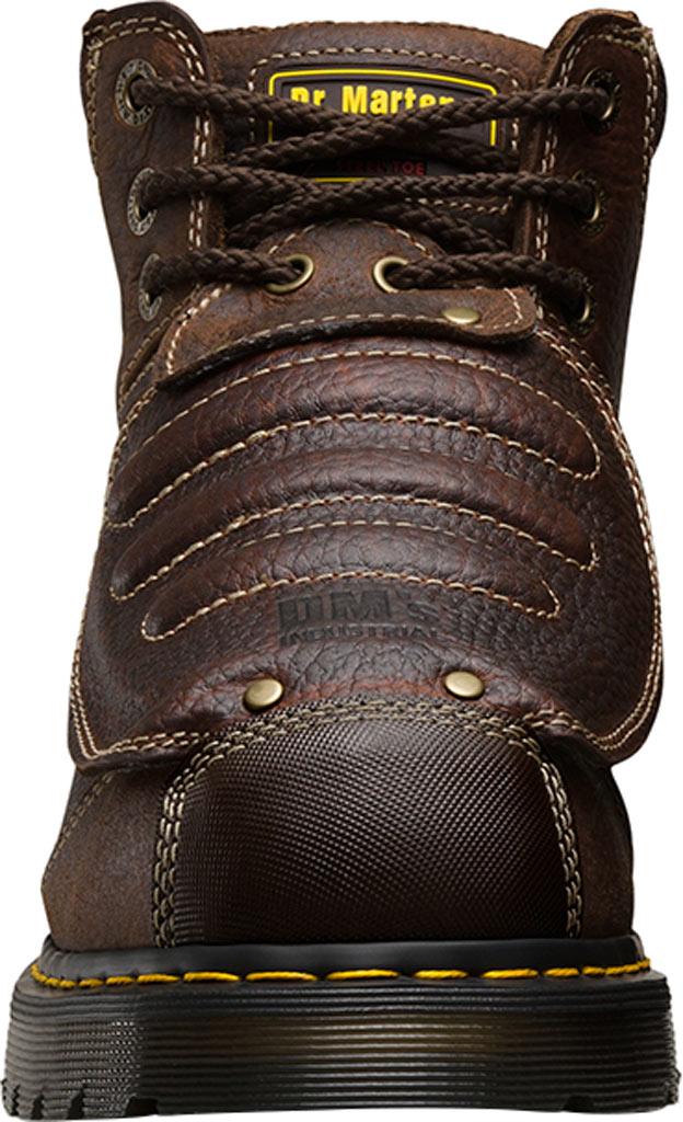 Dr. Martens Work Ironbridge Tec-Tuff Safety Toe 8 Tie Boot, Teak Industrial Trailblazer Tumbled (Met Guard/ST), large, image 4