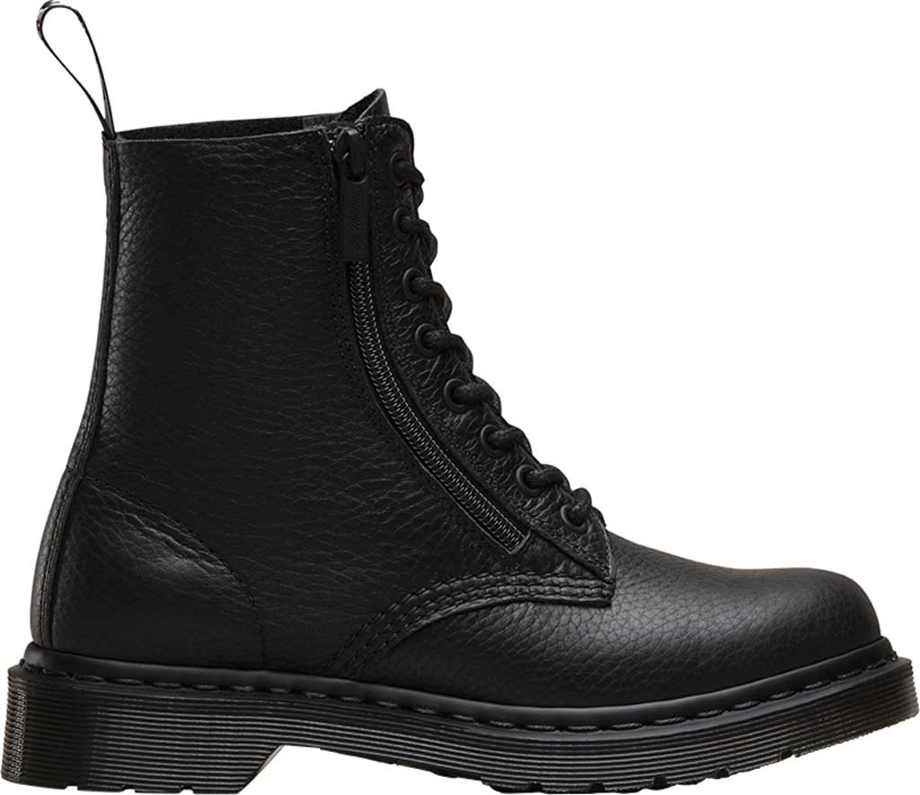 Women's Dr. Martens Pascal 8-Eye Zip Boot, Black Aunt Sally, large, image 2