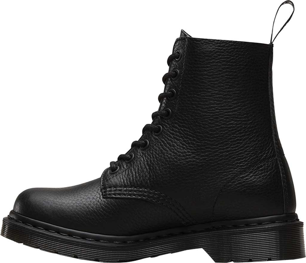 Women's Dr. Martens Pascal 8-Eye Zip Boot, Black Aunt Sally, large, image 3