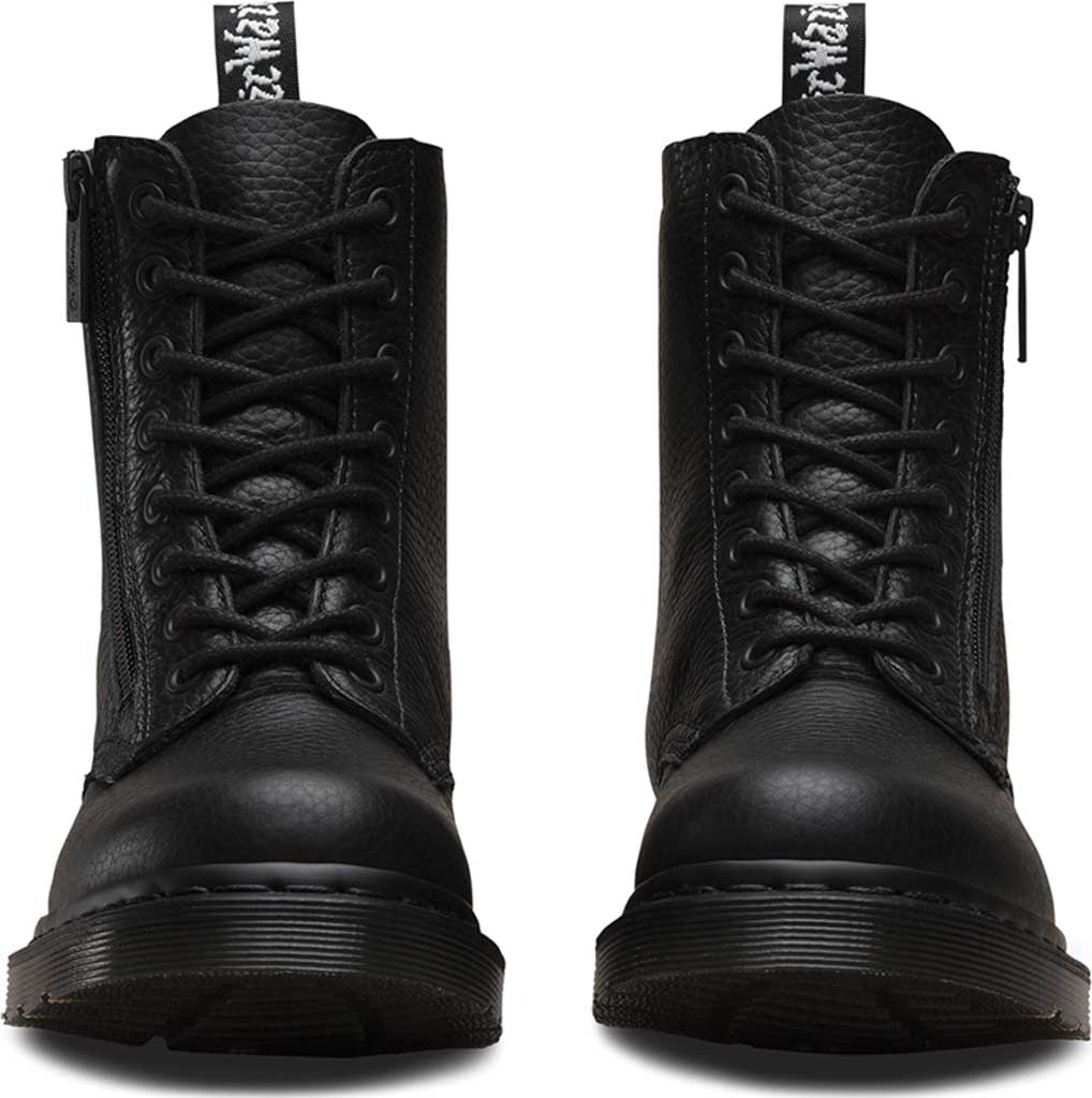 Women's Dr. Martens Pascal 8-Eye Zip Boot, Black Aunt Sally, large, image 4