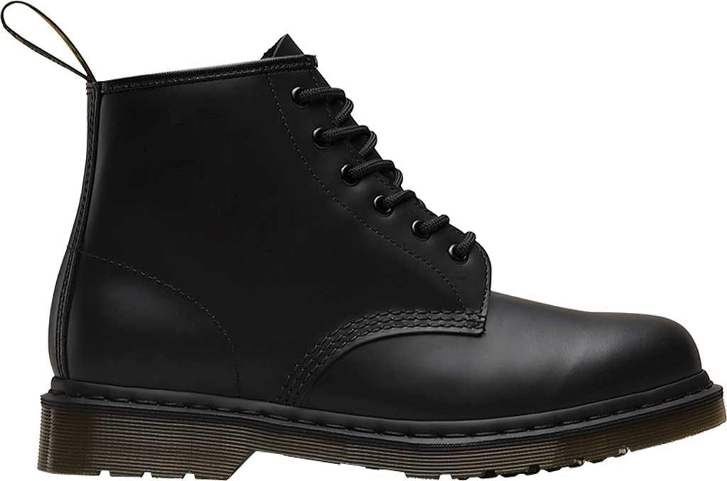 Dr. Martens 101 6-Eye Boot, Black Smooth Standard Leather, large, image 2