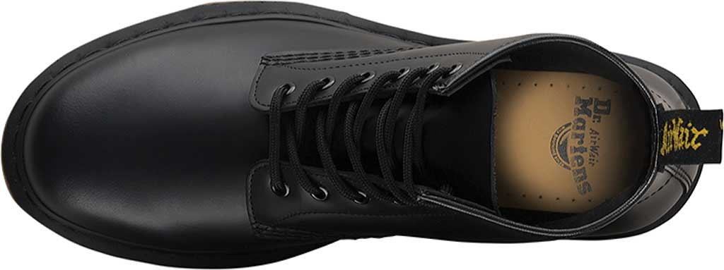 Dr. Martens 101 6-Eye Boot, Black Smooth Standard Leather, large, image 4