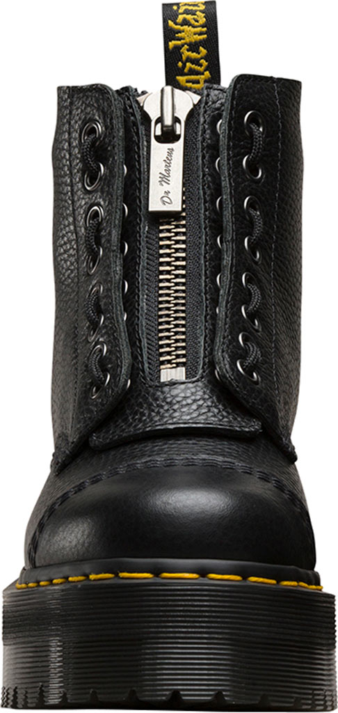 Women's Dr. Martens Sinclair 8-Eye Jungle Boot, Black Aunt Sally Tumbled Leather, large, image 4