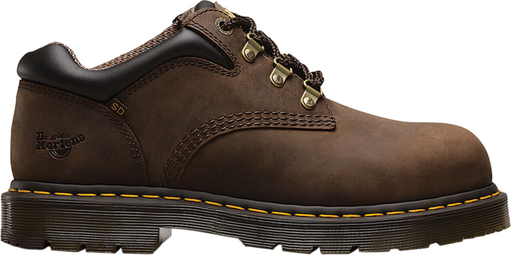 Dr. Martens Work Hylow Steel Toe Work Shoe, Gaucho Oiled Leather, large, image 2