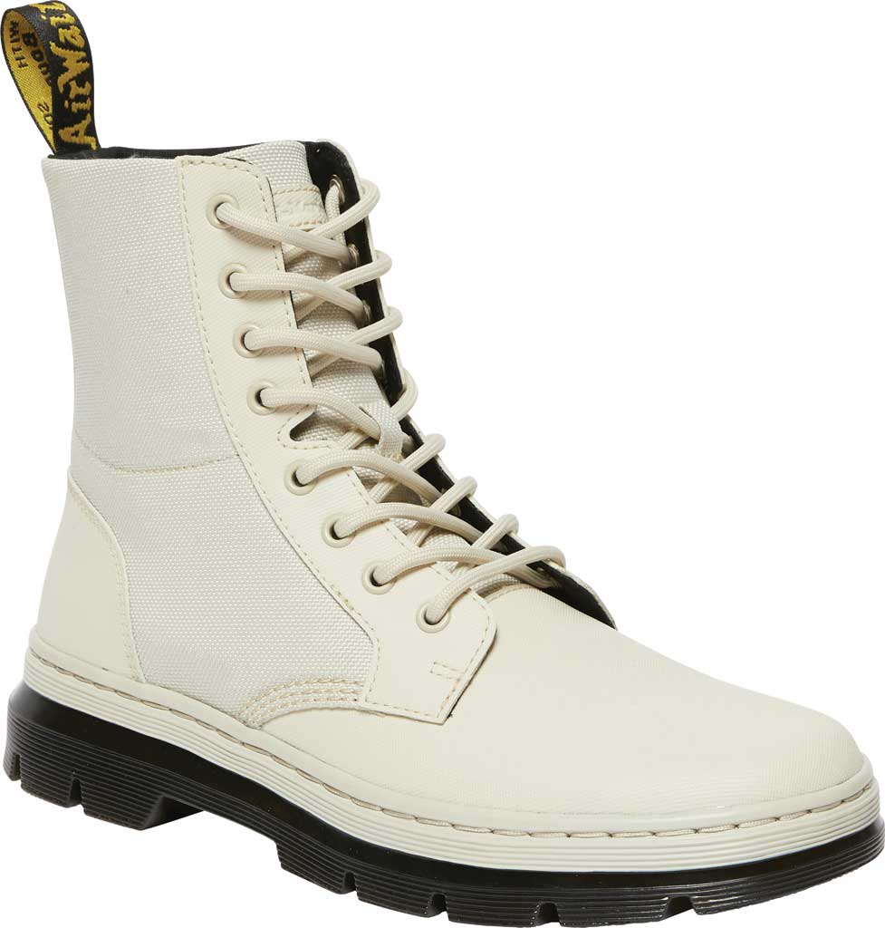 Dr. Martens Combs II 8-Eye Boot, Bone Element Split Leather/Poly Rip Stop, large, image 1