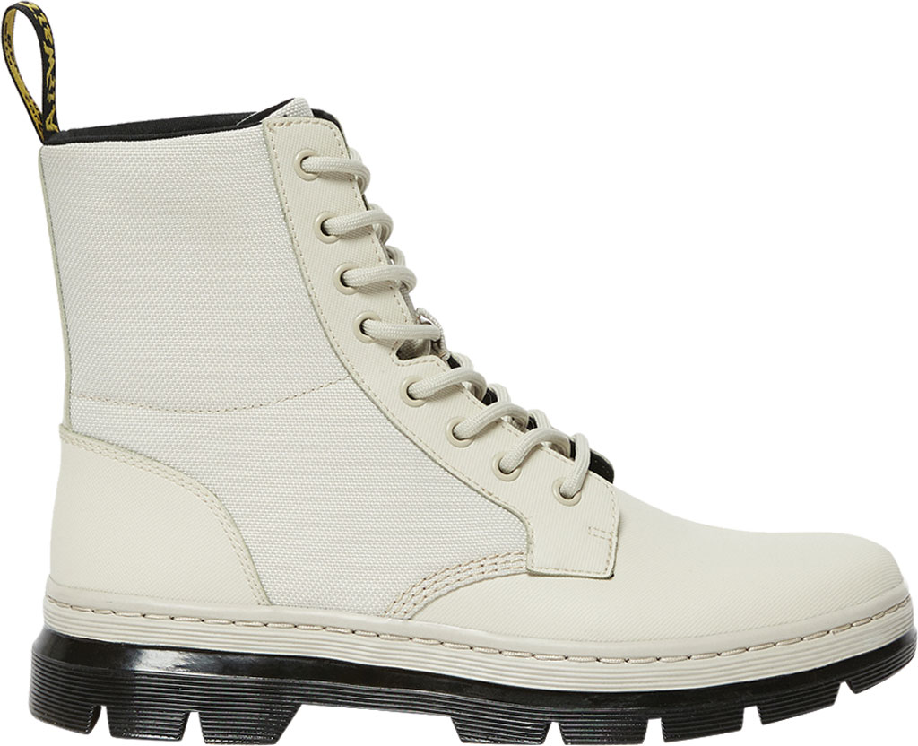 Dr. Martens Combs II 8-Eye Boot, Bone Element Split Leather/Poly Rip Stop, large, image 2