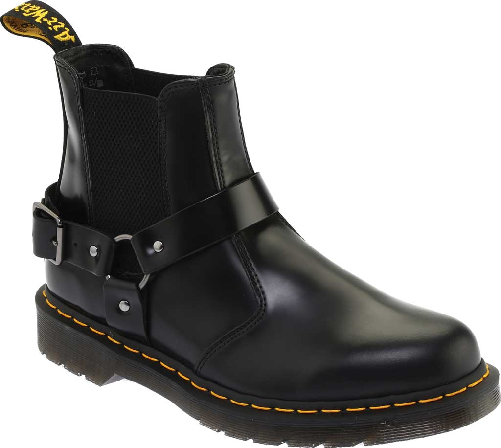 Dr. Martens Wincox Chelsea Boot, Black Polished Smooth Leather, large, image 1