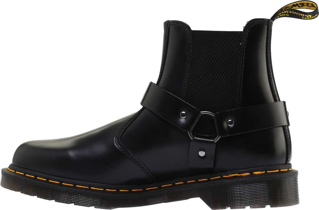 Dr. Martens Wincox Chelsea Boot, Black Polished Smooth Leather, large, image 3