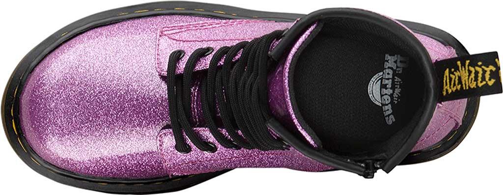 Girls' Dr. Martens 1460 Glitter Boot Junior, Dark Pink Coated Glitter, large, image 4