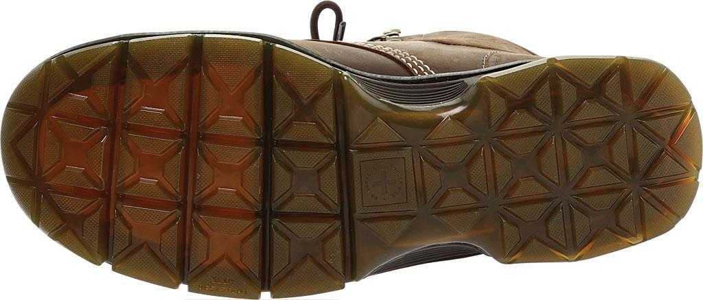 Men's Dr. Martens Work Britton Steel Toe 7-Tie Gibson-Cut Boot, Dark Brown Republic Oily Leather/Tough Nylon, large, image 6