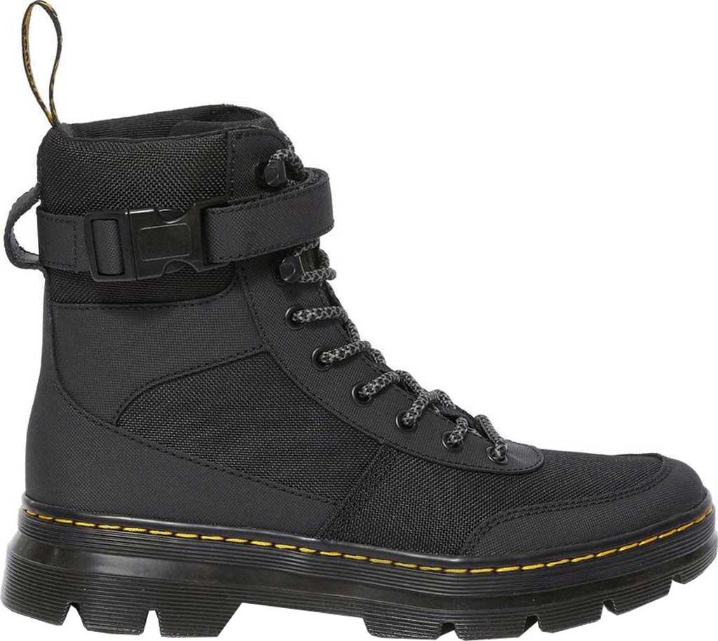 Dr. Martens Combs Tech 8-Eye Boot, Black Extra Tough Nylon/Ajax, large, image 2