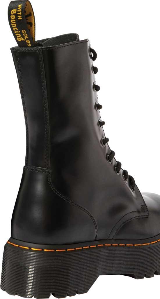 Dr. Martens Jadon Hi Platform Boot, Black Polished Smooth Leather, large, image 3