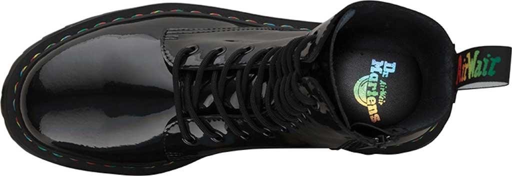 Dr. Martens Jadon Hi Platform Boot, Black Rainbow Patent Leather, large, image 4