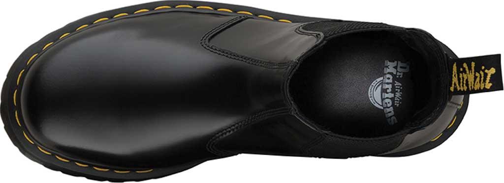 Dr. Martens 2976 Quad Chelsea Boot, Black Polished Smooth Leather, large, image 4