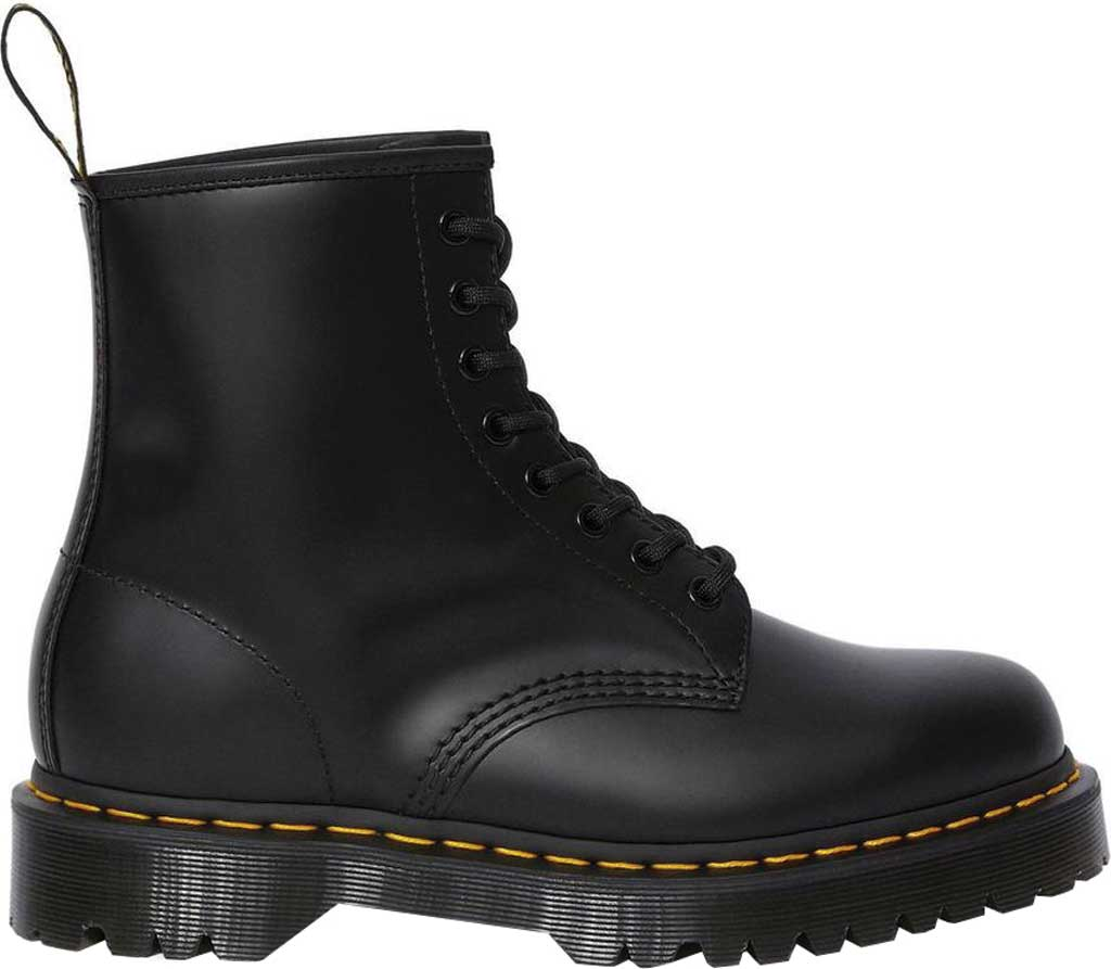 Dr. Martens 1460 Leather 8-Eye Boot, Black Smooth Leather, large, image 2