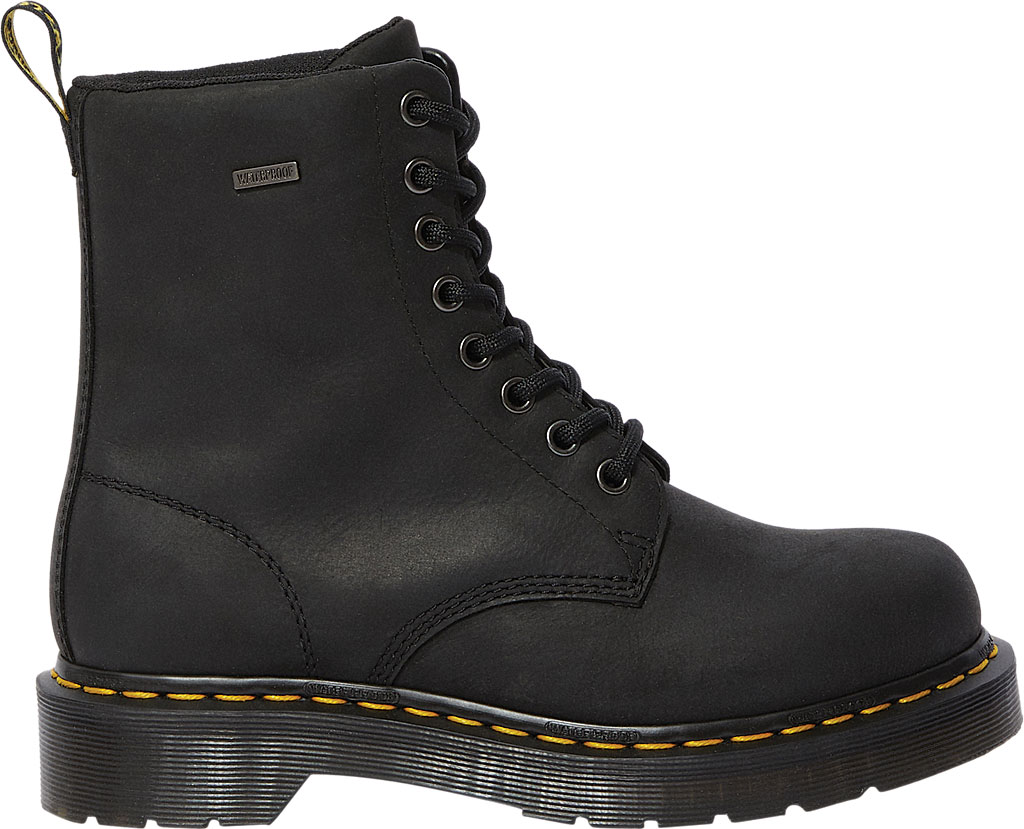 Women's Dr. Martens 1460 Waterproof Boot, Black Republic Oily Leather, large, image 2