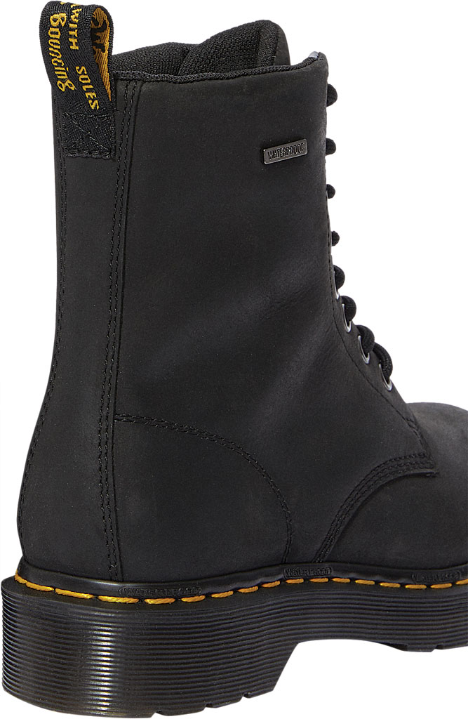 Women's Dr. Martens 1460 Waterproof Boot, Black Republic Oily Leather, large, image 3