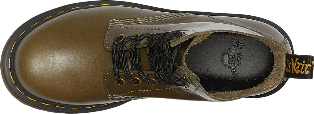Women's Dr. Martens 1460 Leather 8-Eye Ankle Boot, Olive Wanama Leather, large, image 3