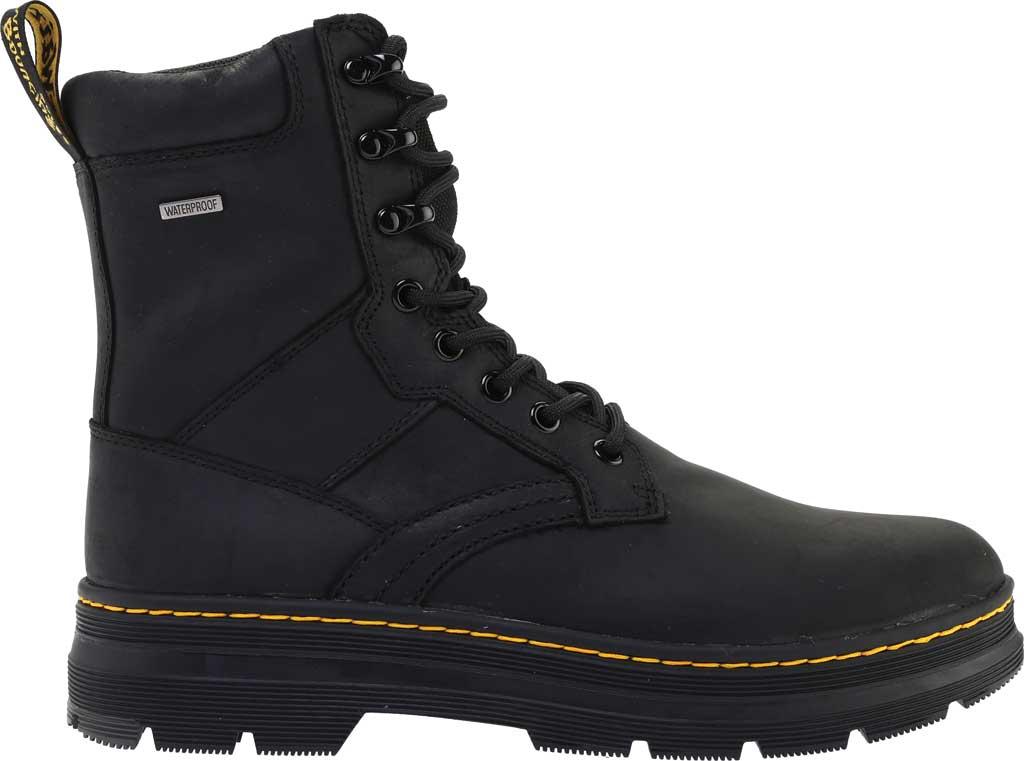 Dr. Martens Iowa 8 Tie Waterproof Boot, Black Republic Oily Leather/Nylon, large, image 2