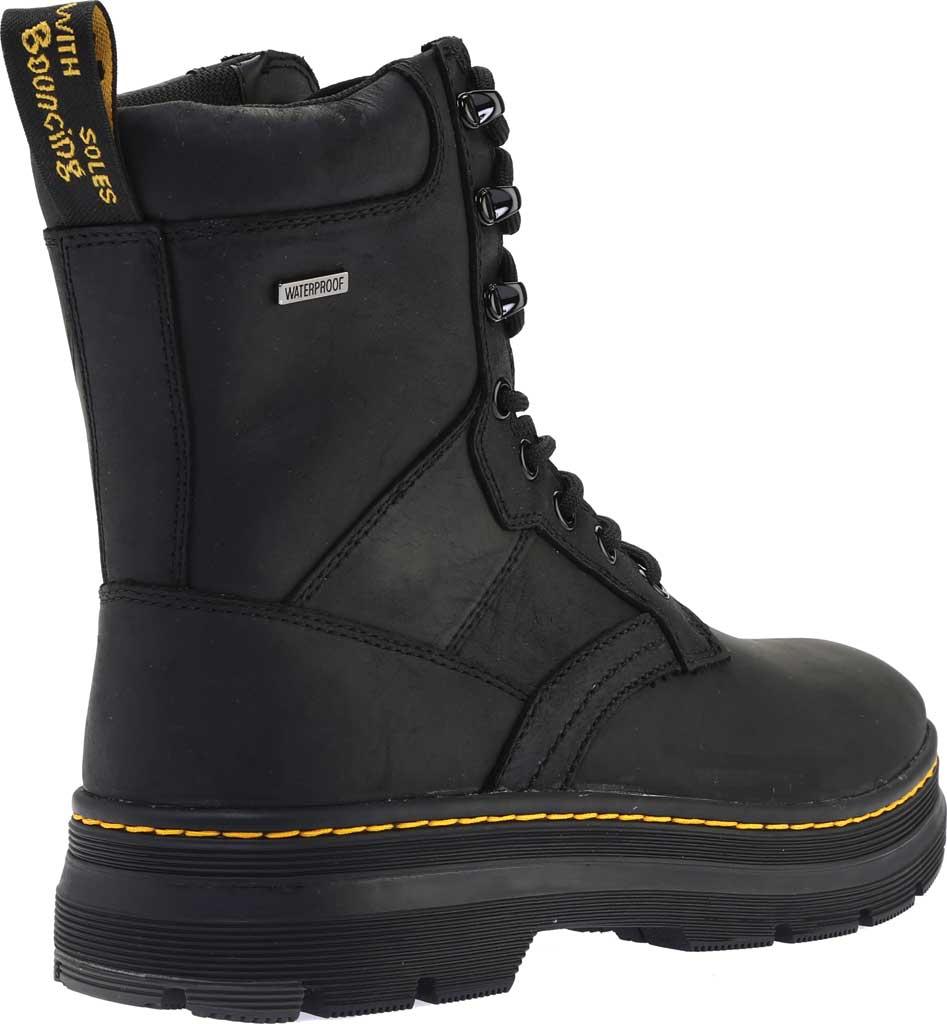 Dr. Martens Iowa 8 Tie Waterproof Boot, Black Republic Oily Leather/Nylon, large, image 4