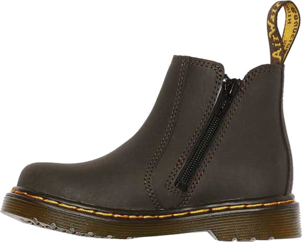 Infant Dr. Martens 2976 Pull On Chelsea Boot Toddler, Gaucho Wildhorse Lamper Distressed Oily Leather, large, image 2