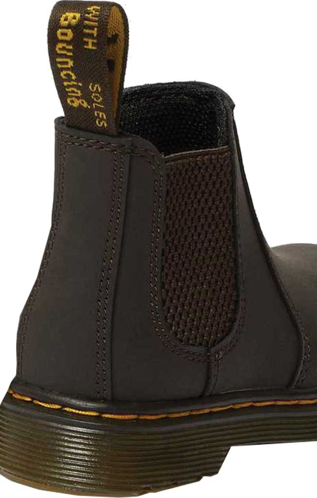 Infant Dr. Martens 2976 Pull On Chelsea Boot Toddler, Gaucho Wildhorse Lamper Distressed Oily Leather, large, image 3