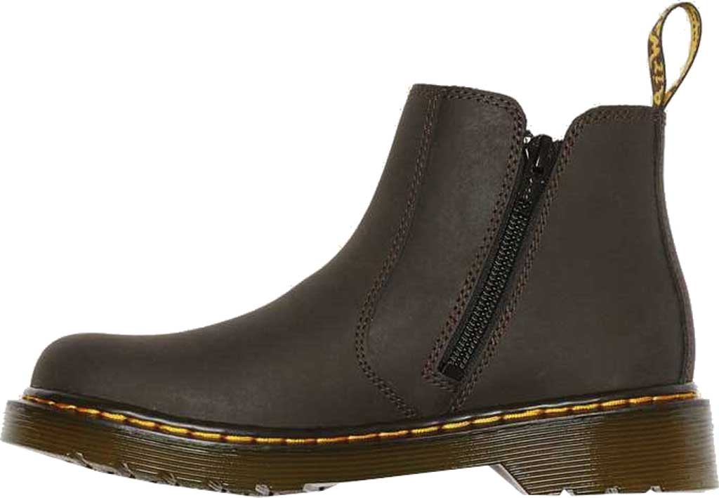 Children's Dr. Martens 2976 Pull On Chelsea Boot Junior, Gaucho Wildhorse Lamper Distressed Oily Leather, large, image 3