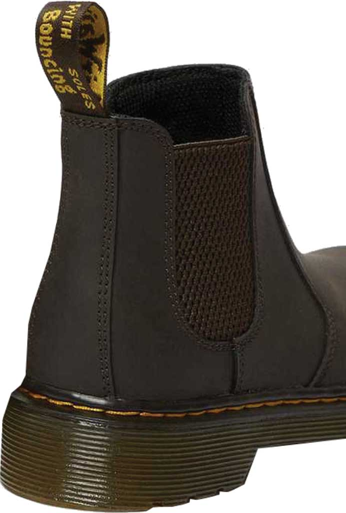 Children's Dr. Martens 2976 Pull On Chelsea Boot Junior, Gaucho Wildhorse Lamper Distressed Oily Leather, large, image 4