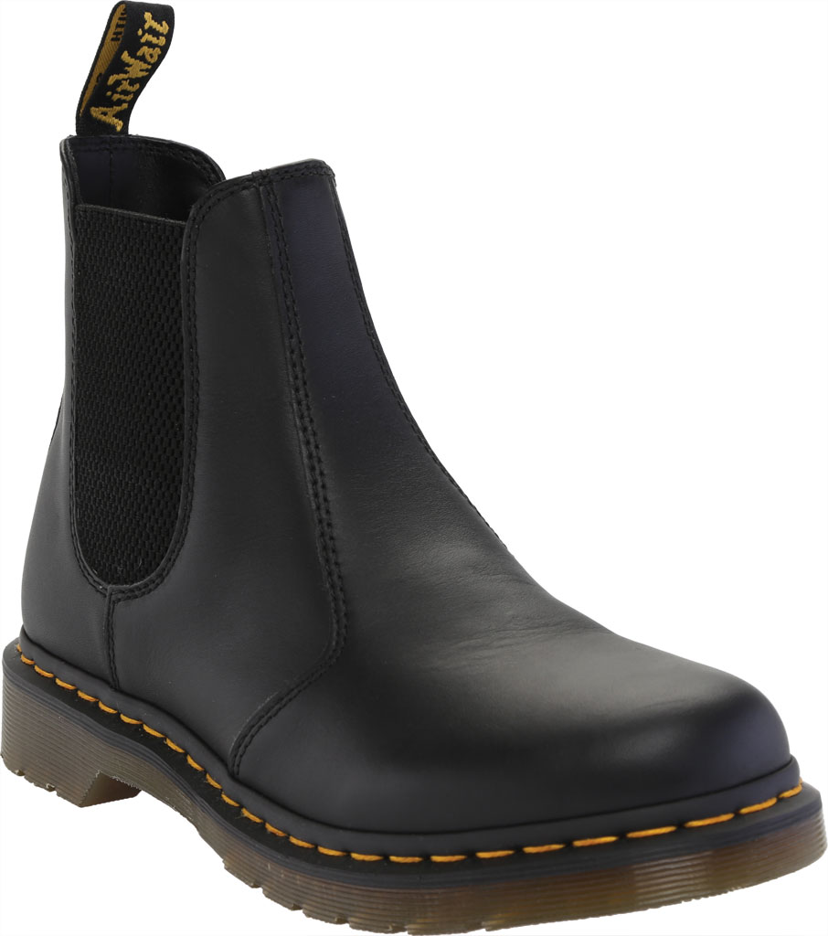 Women's Dr. Martens 2976 Chelsea Boot, Black Nappa Leather, large, image 1