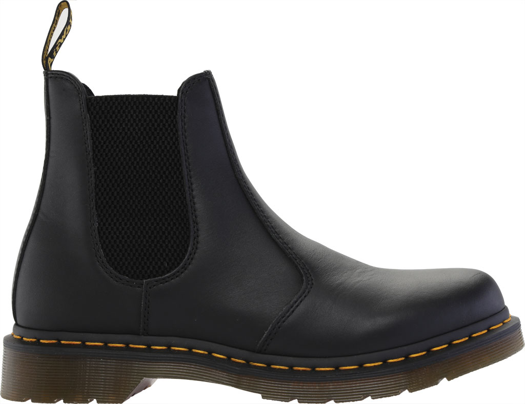 Women's Dr. Martens 2976 Chelsea Boot, Black Nappa Leather, large, image 2