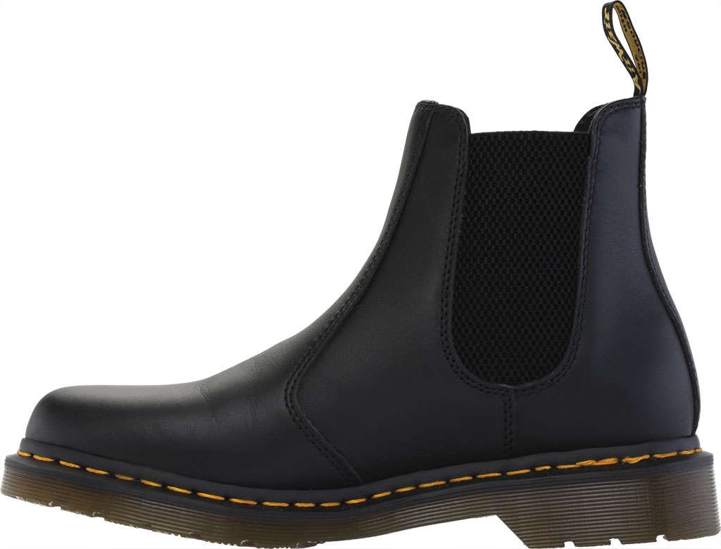 Women's Dr. Martens 2976 Chelsea Boot, Black Nappa Leather, large, image 3