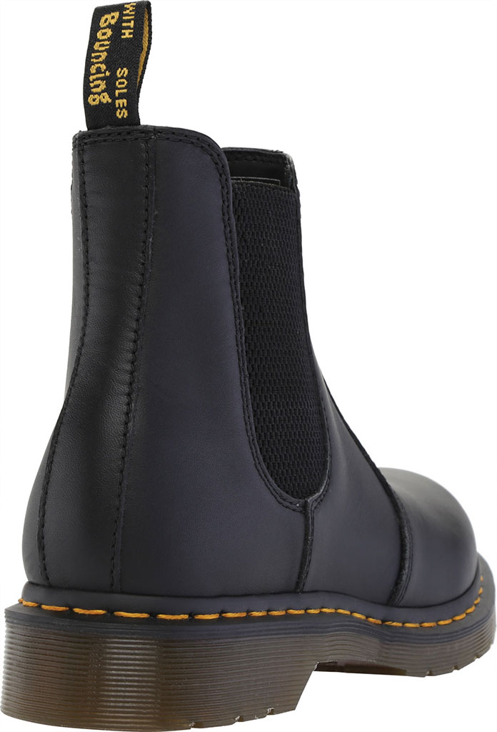 Women's Dr. Martens 2976 Chelsea Boot, Black Nappa Leather, large, image 4