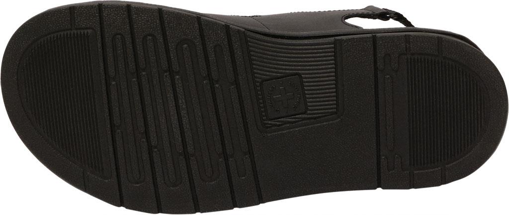Men's Dr. Martens Soloman Walking Sandal, Black Hydro PU Coated Leather, large, image 5